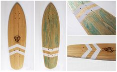 la planche a roues' wooden handcrafted cruiser skateboards