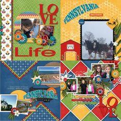 GingerScraps :: Bundled Goodies :: Travelogue Pennsylvania - Bundle Pack