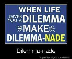 #caseofthemondays #dilemma #workwithwhatyagot #hahaha