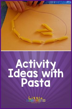Motor Skills Activities, Gross Motor Skills, Fun Activities, Little Learners, Channel, Pasta, Check, Youtube, How To Make