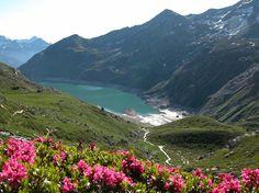 Le barrage de Bissorte-Modane et le massif de la Vanoise