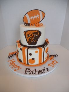Cleveland Browns - Chocolate cake with peanut butter dream filling. Cleveland  Team d503851f4