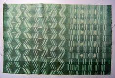 ...And Then We Set It On Fire: Shibori Folding - no 5