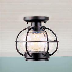 Nautical Onion Outdoor Ceiling Light $119 CELLAR LAUNDRY ROOM