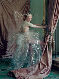 ♥ Romance of the Maiden ♥ couture gowns worthy of a fairytale - Tim Walker, styling by Rhea Thierstein