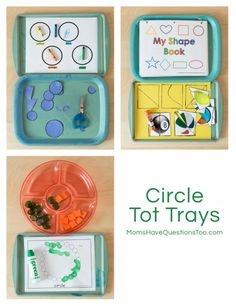 Circle Tot Trays - Moms Have Questions Too