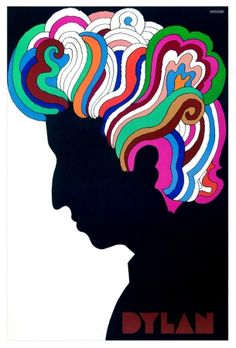 Milton Glaser - 1966 Bob Dylan poster by a great designer