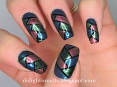 Delight In Nails: 52 Week Pick n Mix - Fishbraid + Non-Glitter Topper
