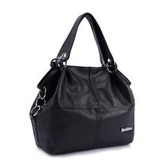 Women pu leather messenger bag handbag shoulder bags