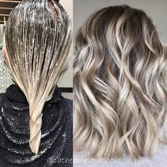 Adorable Ash Blonde Hairstyles - Stylish Hair Color Ideas #BlondeHairstylesIdeas