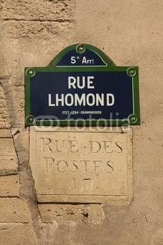 RUE L'HOMOND, PARIS, FRANCIA. 5eme. ARRONDISSEMENT.
