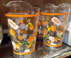 Orange Bird Pitcher from the Marketplace Co-op in Downtown #Disney!
