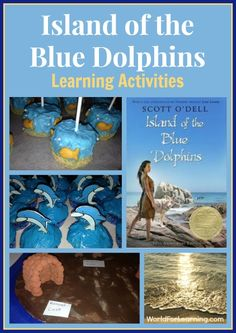 Island of the Blue Dolphin gave our book club many topics to explore. Here are some of our favorite Island of the Blue Dolphins learning activities. 4th Grade Reading, Literature Circles, Middle Schoolers, Book Study, Teaching Reading, Reading Lessons, Book Club Books, Book Clubs, Ocean Themes