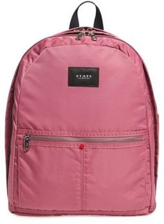 9b15893ee2 State Bags The Heights Kent Backpack - Red