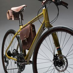 An urban road bike gets a vintage-inspired overhaul in a one-off collaboration