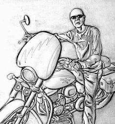 ArteyMetal: Retrato de Santi