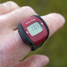 Sport Pulse Ring – $11 #watch #clock #stopwatch #battery #lightweight #easy