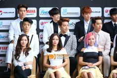 2pm & miss A   JYP NATION in BANGKOK 2014 'ONE MIC'  #JYPNATION #ONEMIC
