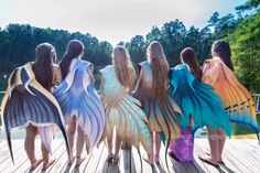 Proud to stand in line with all these wonderful ladies- We are free spirits, bound only by a covenant of the water that draws us, dancing on the ripples of the shore, laughing like the glimmer of the sun on playing on the surface, with joy as...