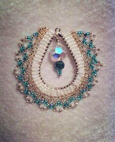 copper-cobalt netted pendant | Flickr - Photo Sharing!