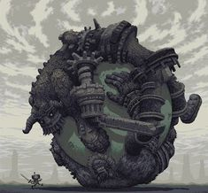Some excellent Shadow of the Colossus Pixel Art.