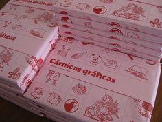#CARNE #PAQUETE #GRAFICA #LIBROS #ILUSTRACION #PUBLICACION #CROWDFUNDING - Paquetes envueltos para mecenas de CÁRNICAS GRÁFICAS by TYPEREPUBLIC + ADICCIONES PORQUESÍ Doble libro coeditado. Por una parte, es una increíble colección de papeles de carnicería ordenados por estilos gráficos. Un libro de relatos ilustrados originales relacionados con la carne. +INFO: www.adiccionesporquesi.net  CAMPAÑA crowdfunding verkami www.verkami.com/projects/3336