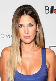 Daisy Fuentes with Ombre Hair