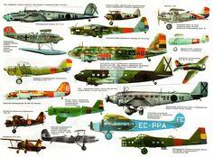 Aircraft of the Spanish Civil War.