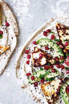 Veggie Recipes, Vegetarian Recipes, Cooking Recipes, Healthy Recipes, Veggie Dinner, Food Crush, Halloumi, Mediterranean Recipes, Food Inspiration