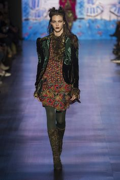 Anna Sui at New York Fashion Week Fall 2017 - Runway Photos