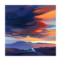 Room With A Rum View Limited Edition - ART PRINTS BY PAM CARTER, SCOTTISH ARTIST