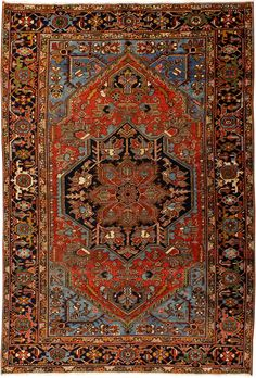 Iran Heriz Size: x I Oscar Isberian Rugs - Chicago Persian Carpet, Persian Rug, Iranian Rugs, Art Watch, Londonderry, Classic Rugs, Oriental Rugs, Tribal Rug, Kilim Rugs