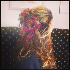 Pink! Clipped in color by Leslie Marie