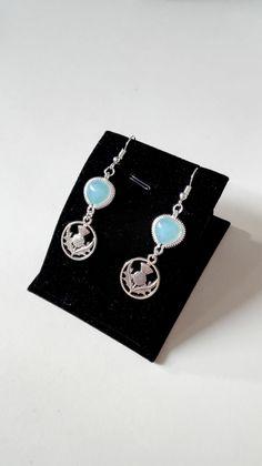 Boucles d'oreilles Outlander chardon Ecosse  Claire Sassenach Clan Fraser Highlanders idée cadeau Miss Perles