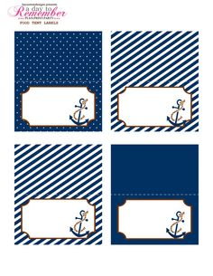 "Popular boys Baby names starting with letter ""N"" Nautical Food, Nautical Names, Nautical Party, Leo Birthday, Unusual Baby Names, Creative Box, Food Tent, Paper Tags, Baby Boy Shower"