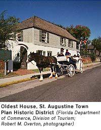 Florida Historic Places - St. Augustine Town Plan Historic District