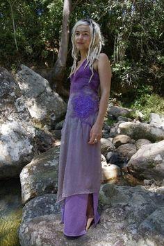 nuno felt bridesmaids dress