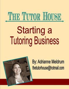 how to start a tutoring business from home