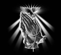 Purple Art, Purple Love, All Things Purple, Shades Of Purple, Purple Swag, Purple Stuff, Purple Hues, Praying Hands With Rosary, Praying Hands Tattoo