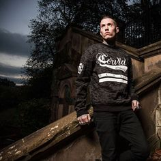 """Corvid Fam"" Camo Bomber Sweater Available at www.crmc-clothing.co.uk 