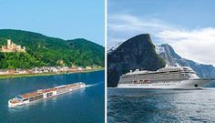 Viking combines its river and ocean cruises