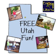 FREE Utah Events, Activities, and Places. Great blog EnjoyUtah.org