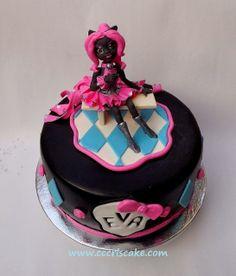 Torturi artistice: Catty Noir - Monster High cake