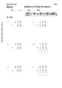 Math Skills After School Program For Kids Kumon North America