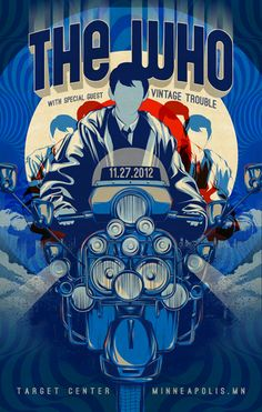 the who on pinterest concert posters rock posters and