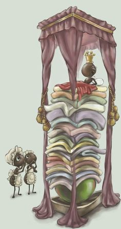The Princess and the Pea by DreamsOfALostSpirit on deviantART