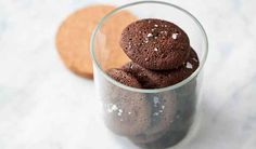 Jamie Oliver's Chocolate Rye Cookies recipe, from the book of his Channel 4 series, Jamie's Quick & Easy Food, takes just 28 minutes to create delicious biscuits. Meat Loaf Recipe Easy, Easy Meat Recipes, Fudge Recipes, Sweet Recipes, Cookie Recipes, Chocolate Recipes, Chicken Recipes, Jamie Oliver, Meat Cooking Chart