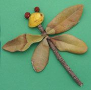 Leaf bug craft. A chance to get out the classroom and collect materials for this fun bug craft. UPDATE: I have now made this craft with my students - excellent !!! http://www.timsensei.com/blog/index.php?id=1020053134378858216