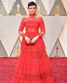 Another red on the red carpet after Ruth Negga Ginnifer Goodwin in @zuhairmuradofficial #Oscars2017  via VOGUE THAILAND MAGAZINE OFFICIAL INSTAGRAM - Fashion Campaigns  Haute Couture  Advertising  Editorial Photography  Magazine Cover Designs  Supermodels  Runway Models