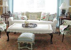 Designer Betsey Speert's living room